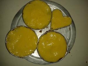 Mango poured