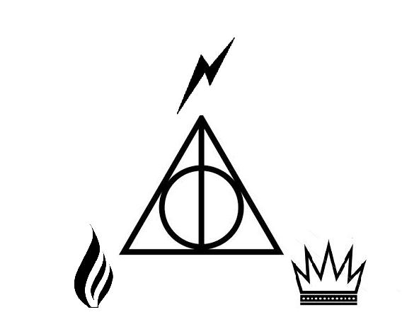 Harry Potter Deathly Hallows Symbol Always Lektonfo
