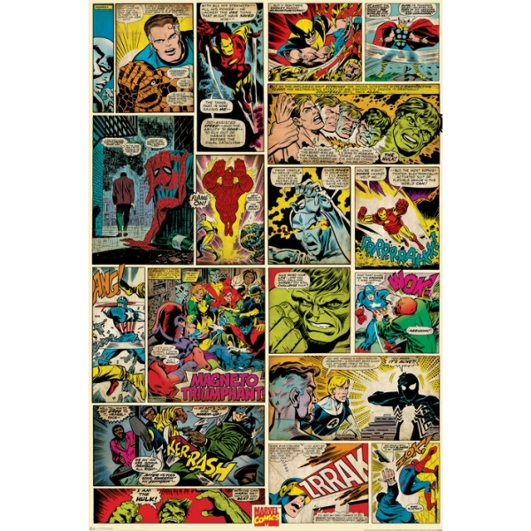 marvel_comics_comic_panels_maxi_poster_raw