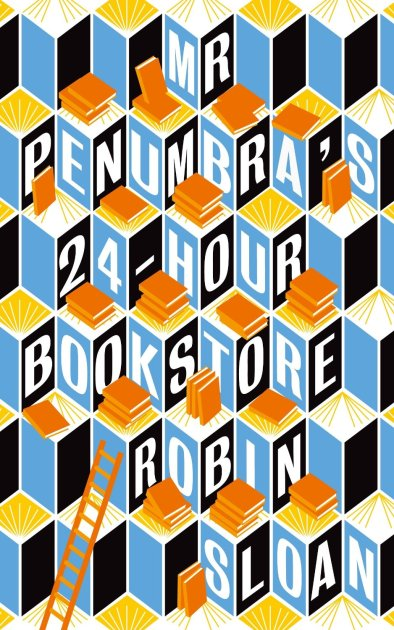 Front cover of Mr. Penumbra's 24 hour Bookstore